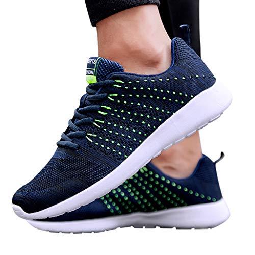 UOMOGO Uomo Donna Scarpe da Ginnastica Running Sportive Interior all'Aperto Tennis Fitness Basse Sneakers