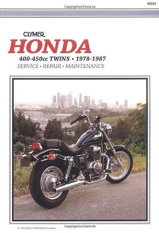 HON 400-450 TWINS 78-87 (Service Repair