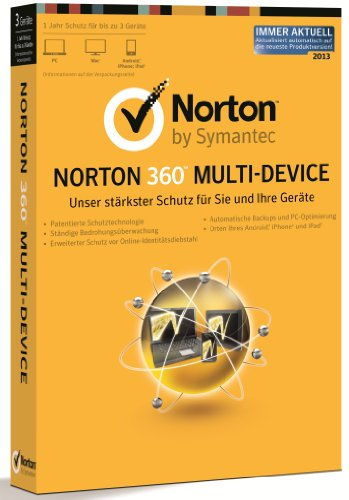 Norton 360 Multi-Device - 3 Geräte (PC, MAC, Android)