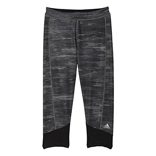 adidas Damen Leggings TF C MACROHTH, Schwarz, XL, 4055344041222