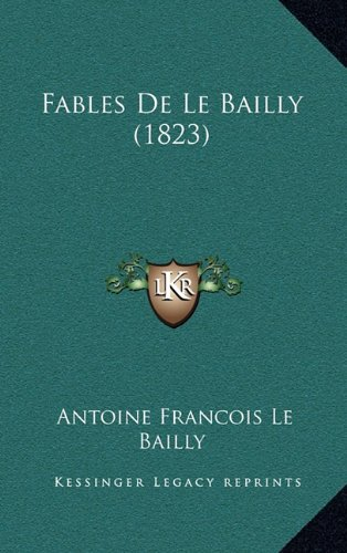 Fables de Le Bailly (1823)