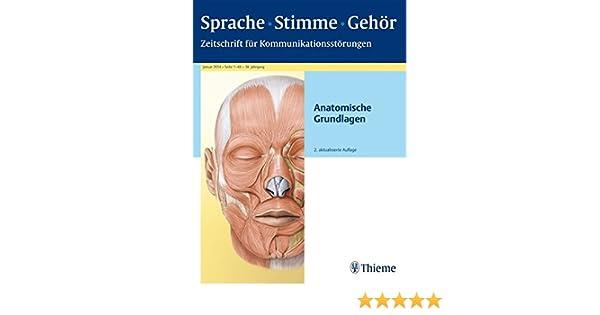 Berühmt Anatomie Und Physiologie Für Die Sprach Sprache Und Gehör ...