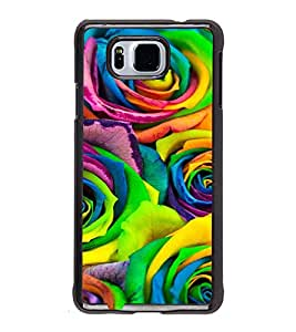 ifasho Designer Back Case Cover for Samsung Galaxy Alpha :: Samsung Galaxy Alpha S801 :: Samsung Galaxy Alpha G850F G850T G850M G850Fq G850Y G850A G850W G8508S :: Samsung Galaxy Alfa (Design Eraser Girly Headsets)