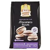 Nonna Anita Preparato in Polvere per Macarons, senza Glutine - 250 gr - [confezione da 2]