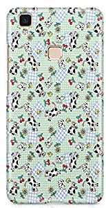 Vivo V3 Max Back Cover by Vcrome,Premium Quality Designer Printed Lightweight Slim Fit Matte Finish Hard Case Back Cover for Vivo V3 Max