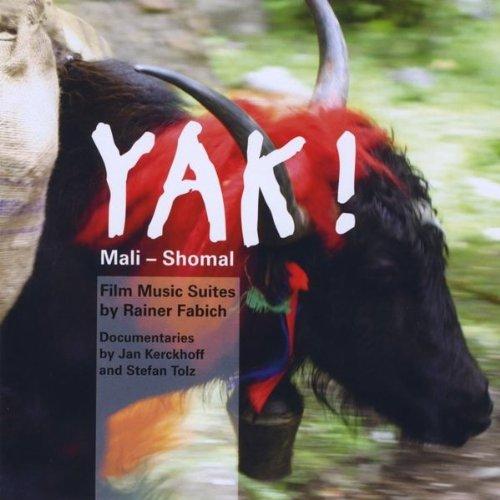 Friedlich grasende Tiere; Yaks at grass -