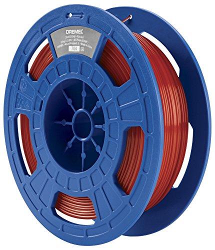 Dremel 26153D03JB Filament pour Imprimante 3D en PLA, Diamètre 1,75 mm, Rouge
