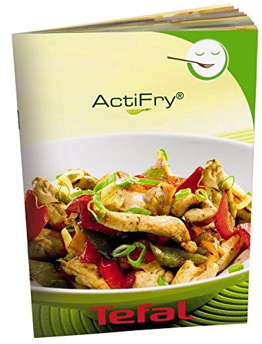 Tefal Actifry Express Snacking FZ751020 - Freidora (una cucharada de aceite, capacidad hasta 5 personas, incluye accesorio Snacking para alimentos blandos, temporizador y parada automática)
