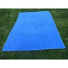 Toalla manta AZULÓN 150x200cm , 100%algodón, 460gr/m2, ...