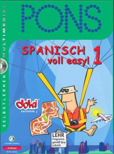 PONS Spanisch voll easy 1. CD-ROM für Windows 95/98/Me/NT 4/2000/XP