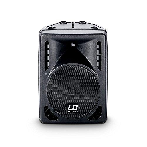 LD Systems LDP102A PRO Serie PA aktiv Lautsprecher (10 Zoll :Mid/Low Driver, 150 Watt RWS)