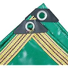 Lona Multiusos, Lona Resistente Impermeable del PVC Resistente para la Piscina, jardín, Cubierta
