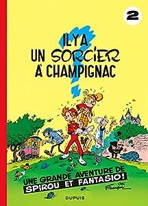"""Afficher """"Spirou et Fantasio n° 2 Il y a un sorcier à Champignac"""""""