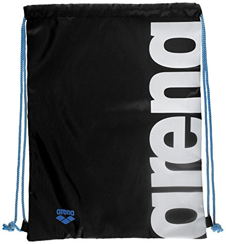 Arena Nuoto sacchetto Fast Swimbag Sacca, Unisex, 93605, black/White, Taglia unica