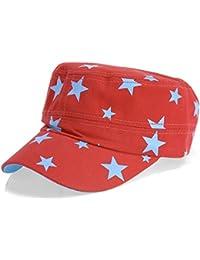dy_mode Schirm Mütze Baseball Cap Mütze Kappe mit Stern Print - C025