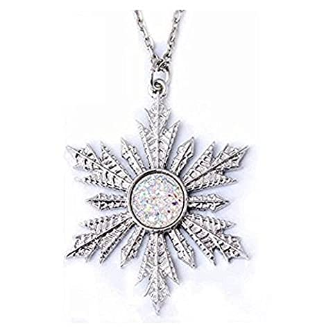 Collier avec pendentif Snowflake Once Upon A Time - Idée