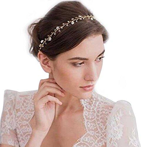 Gracewedding Serre-tête de mariage tendance avec cristaux
