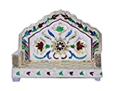 #7: Craft Zone Sinhasan Hand Decorated on Wooden base