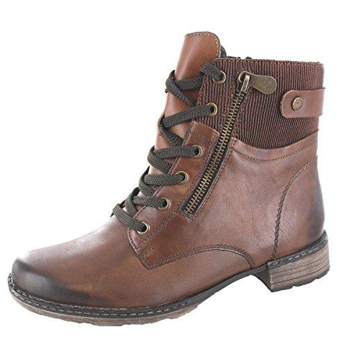 REMONTE - Damen Boots - Braun Schuhe in Übergrößen, Größe:43