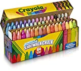 Crayola 64 Washable Sidewalk Chalk With 8 Special Effect Chalk