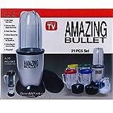TSS Amazing Bullet Blender Mixer High Speed Grinder Juicer & Chopper 21 Piece amazing blender set Multi Purpose for Kitchen