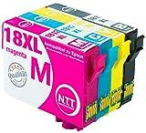 N.T.T.® 10 x Stück XL Druckerpatronen / Tintenpatronen kompatibel zu T1811-T1814 Epson Expression Home XP-102 ; XP-202 ; XP-205 ; XP-30 ; XP-302 ; XP-305 ; XP-402 ; XP-405 ; XP-405WH; XP-212 ; XP-215 ; XP-312 ; XP-315 ; XP-412 ; XP-415 für N.T.T.® 10 x Stück XL Druckerpatronen / Tintenpatronen kompatibel zu T1811-T1814 Epson Expression Home XP-102 ; XP-202 ; XP-205 ; XP-30 ; XP-302 ; XP-305 ; XP-402 ; XP-405 ; XP-405WH; XP-212 ; XP-215 ; XP-312 ; XP-315 ; XP-412 ; XP-415