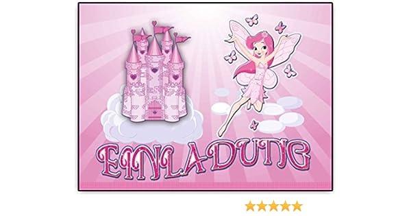Girlande 38 Teile rosa blau Set Kindergeburtstag Fee Prinzessin XL inkl