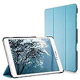JETech 3221- Étui pour Samsung Galaxy Tab A 9.7, Coque avec Support Fonction, Veille/Réveil Automatique, Bleu