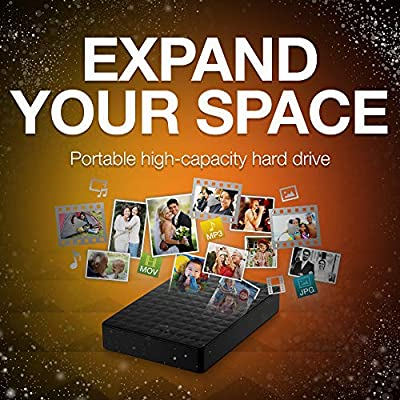 Seagate Expansion External Hard Drive for PC, Xbox One and PlayStation 4