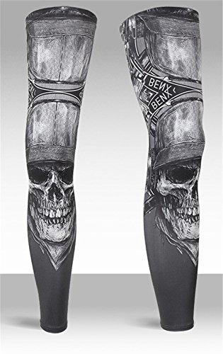 Reiten EIS Seide Sonnenschutz Beindecke UV atmungsaktiv Outdoor-Sport-Strumpfhosen Füße Männer und Frauen Rutschfeste Bein-Sets von hochwertigen Sport Beinlinge (Color : 04, Größe : M(45-55KG))