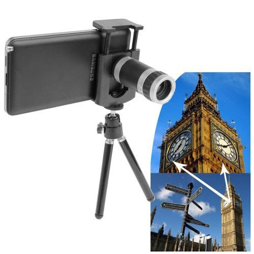 Ruff Universal 8X Zoom Mobile Telescope & Tripod for Samsung Galaxy,Iphone,Sony & HTC