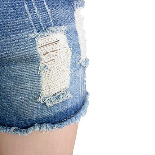 Dorekim Damen Short blau blau XL 8001 # (Bleu)