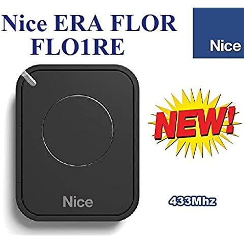 Nice FLO1RE Mando a distancia original para puertas automáticas, 1 botone, 433,92 MHz, rolling code!!!