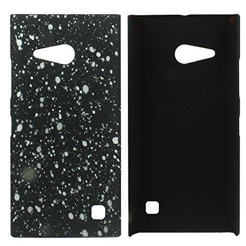 Heartly Night Sky Glitter Star 3D Printed Design Retro Color Armor Hard Bumper Back Case Cover For Nokia Lumia 730 735 - Champagne Silver  available at amazon for Rs.199
