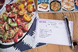 Recipe Cards - 60-Pack Blank Recipe Cards, Double-Sided, Watercolor Design - 4 x 6 Inches