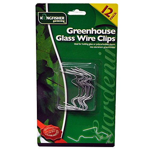 Greenhouse Glass Wire Clips