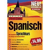 First Class Sprachkurs 6.0 Spanisch (4 CD-ROMs + 1 Audio-CD)