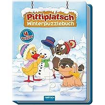 Malbücher für Kinder Malset Pittiplatsch mit Farbpalette 1 Malbuch mit Wasserfarben und Pinseln Stück Mal- & Zeichenmaterialien für Kinder