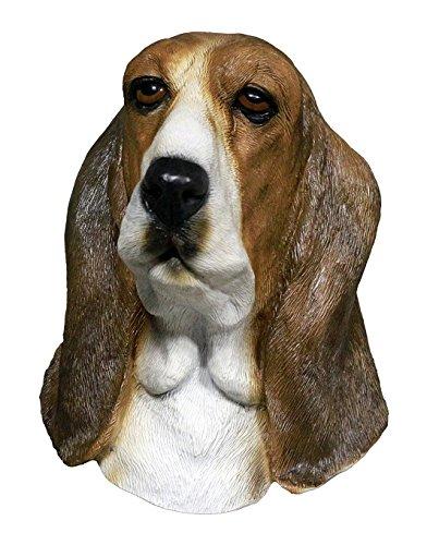 MASCARELLO Halloween Hund Maske Basset Hound Mask Latex Maske Tierkostüm Partei -