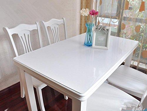 PVC tela de mesa impermeable vidrio blando de plástico mantel placa de...