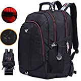 Freebiz 60L Backpack for Laptops Up To 19 inch Shockproof Hiking Travel Computer