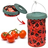 Upside Down Hanging Tomato Planter Garden Patio Grow Your Own Fresh Fruit Vegetables Bag Pouch Weed Prevention