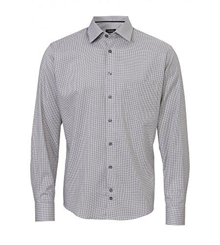 Michaelax-Fashion-Trade -  Camicia classiche  - Basic - Classico  - Maniche lunghe  - Uomo Uni Grau (710)