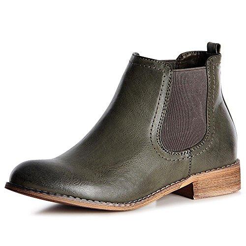 topschuhe24-1095-damen-stiefeletten-chelsea-boots-booties-farbeoliv-grungrosse38