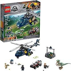 Lego Jurassic World La poursuite en hélicoptère de Blue 75928 (397 pièces)