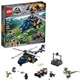 LEGO Jurassic World Persecución en helicóptero de Blue 75928 (397 piezas)