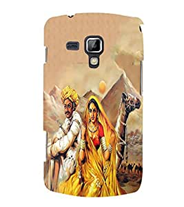 PrintVisa Poetry Of Rajasthan 3D Hard Polycarbonate Designer Back Case Cover for Samsung Galaxy S Duos 2 S7582 :: Samsung Galaxy Trend Plus S7580
