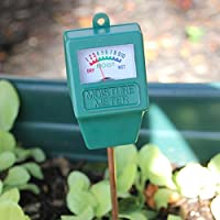 Jiamins Testeur Humidité du Sol, Jardin hygromètre, Soil Moisture Meter, Idéal pour Le Jardin, Ferme, Pelouse, intérieur et extérieur (sans Batterie Nécessaire)