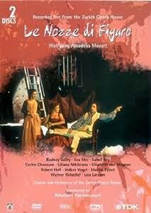 Mozart, Wolfgang Amadeus - Le nozze di Figaro / Nikolaus Harnoncourt, Opernhaus Zürich [2 DVDs]