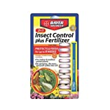 Bayer 701710A 2-in-1 Insect Control Plus Fertilizer Plant Spike